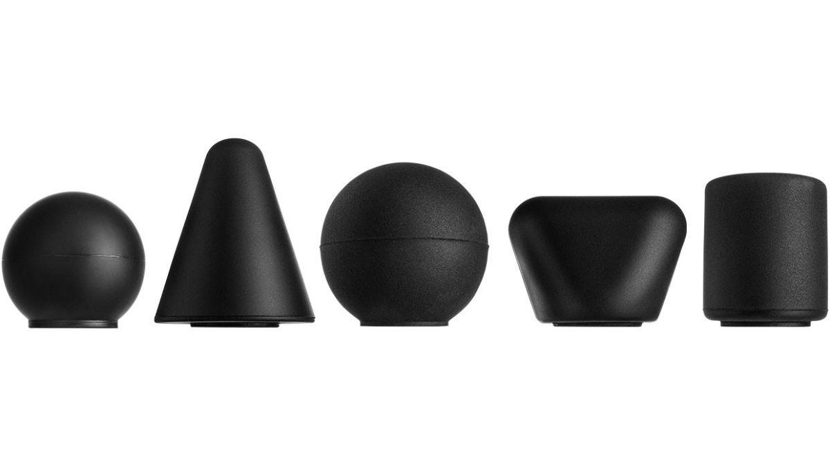 pontas de cabeça para equipamento de massagem Compex Fix 1.0 e Fixx 2.0