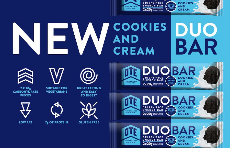 Barra energetica DUO BAR cookies and Cream