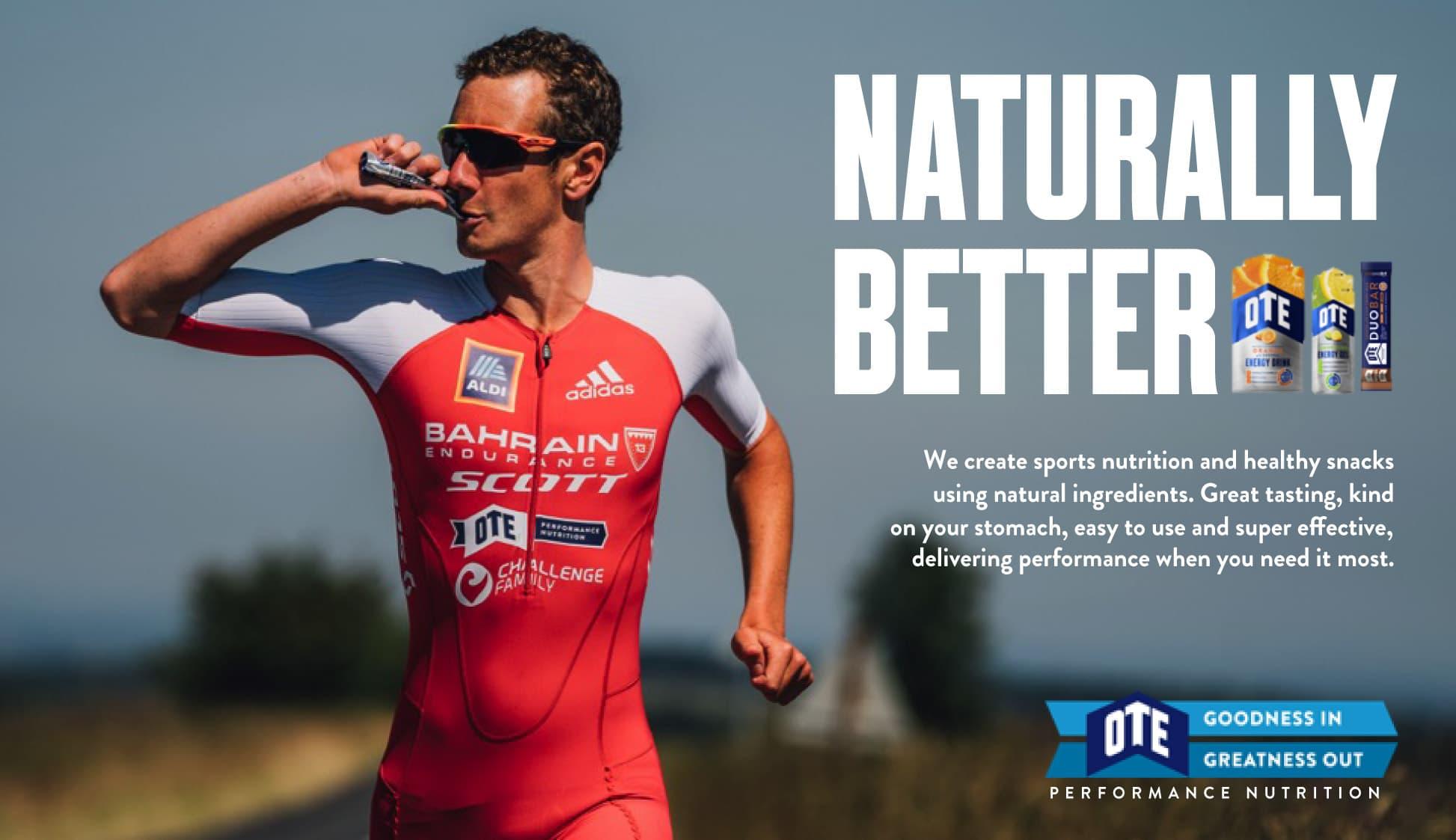 OTE Sports nutrition naturalmente melhor