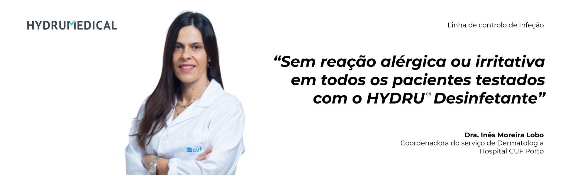Dra Ines Lobo hospital CUF Hydrumedical