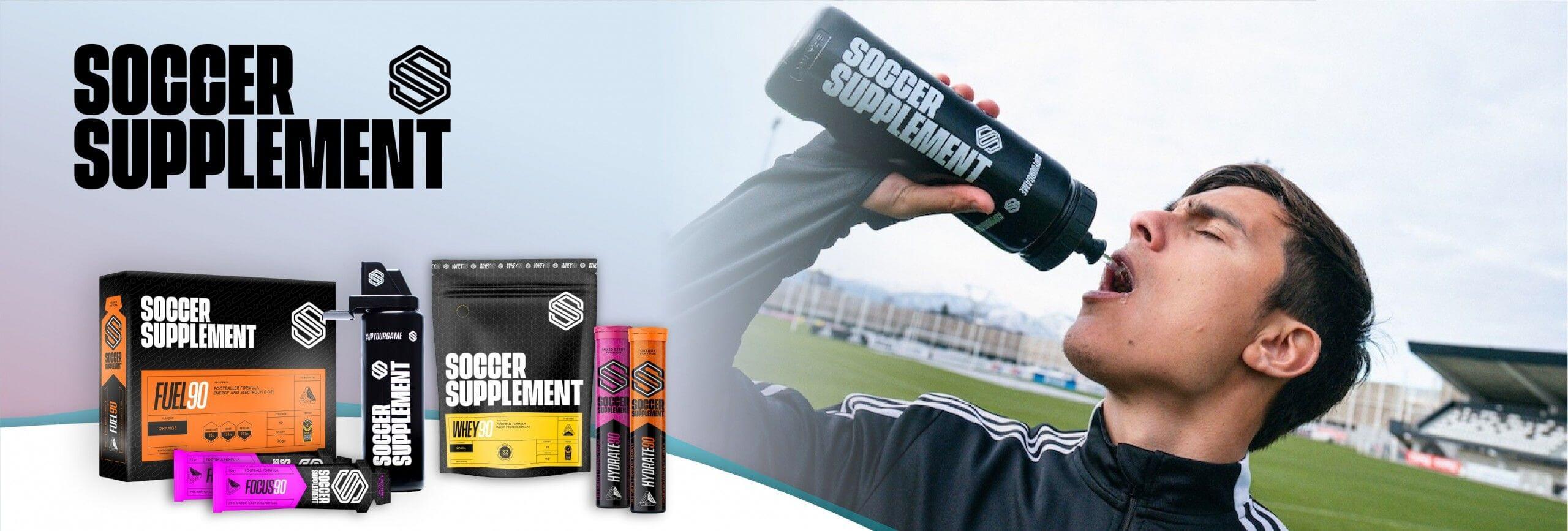 suplementos para jogadores de futebol da marca soccer supplement