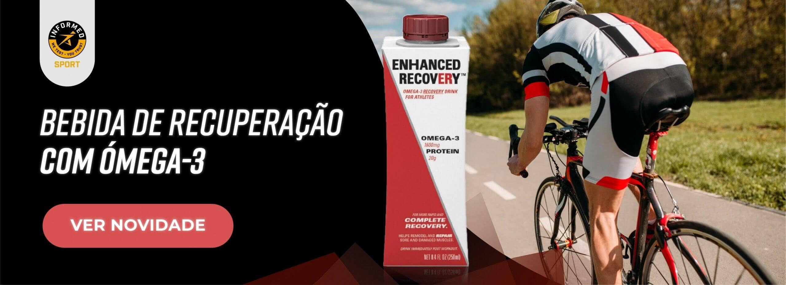 ENHANCED RECOVERY Bebida com omega-3