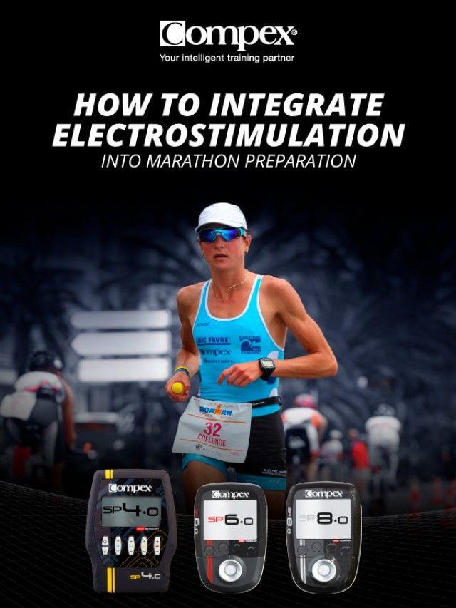 Plano de treino maratona com eletroestimulador Compex