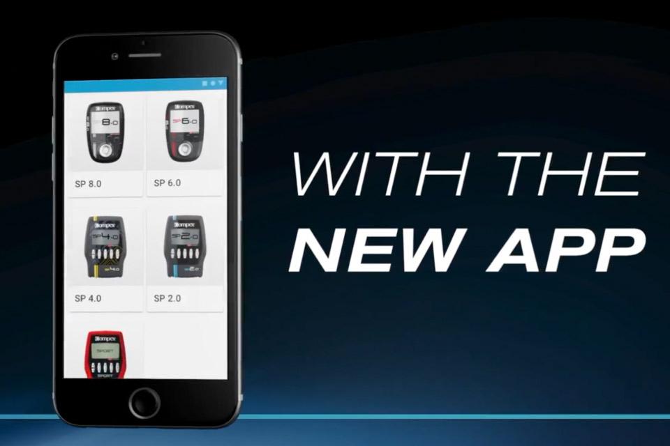 download app compex eletroestimulação