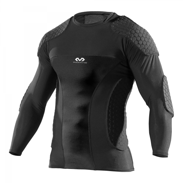 Hex LongSleeve Goalkeeper Shirt shoulder rib elbow pad 7737