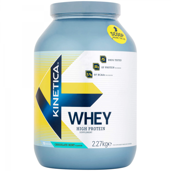 Kinetica Whey Protein 2,27Kg Chocolate/Menta