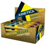 Kinetica Protein Deluxe Bar Cookies and Cream 12 X 65g