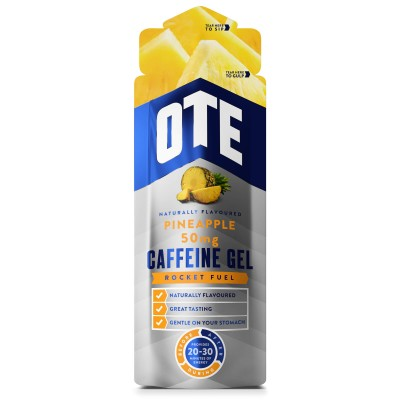 OTE Caffeine Energy Gel Caffeine Pineapple 56g