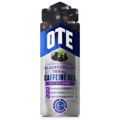 OTE Caffeine Energy Gel Caffeine Blackcurrant 56g