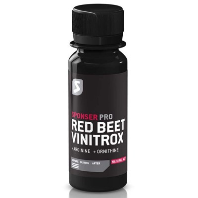 Sponser Red Beet Vinitrox 4 X 60ml