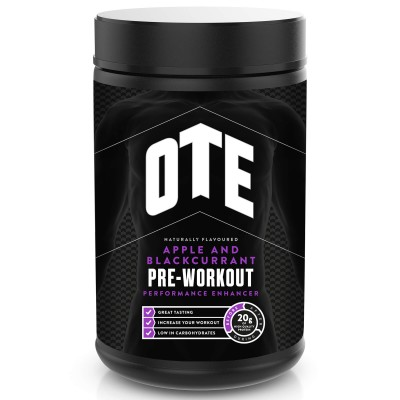 OTE  Pre-Workout Performance Maçã/ Groselha Negra 420g
