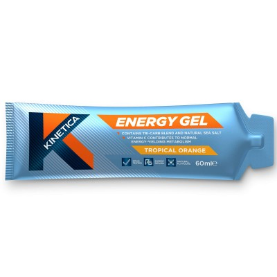 Kinetica Energy Gel Laranja Tropical 60ml