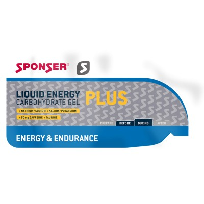 Sponser Liquid Energy Plus Gel 35g