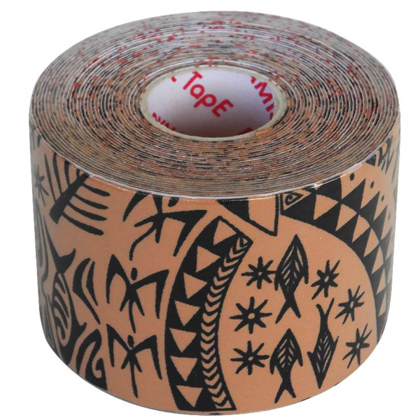 Dynamic Tape  Rolo 7,5cm x 5m Black Tattoo (caixa 4 rolos)