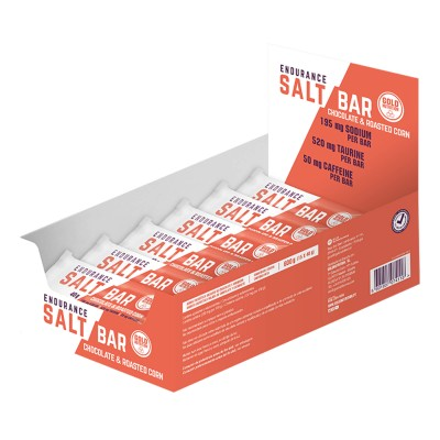Endurance Salt Bar 15 X 40g Chocolate/Milho torrado