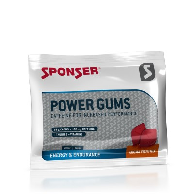 Sponser Power Gums Tutti Frutti 75g