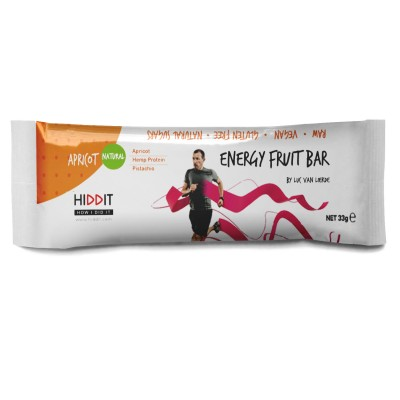 HIDDIT Energy Fruit Bar 33g Damasco