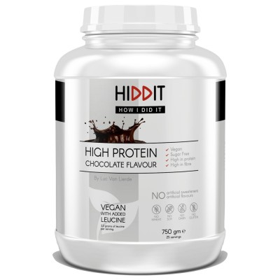 HIDDIT Proteína Vegan Chocolate 750g