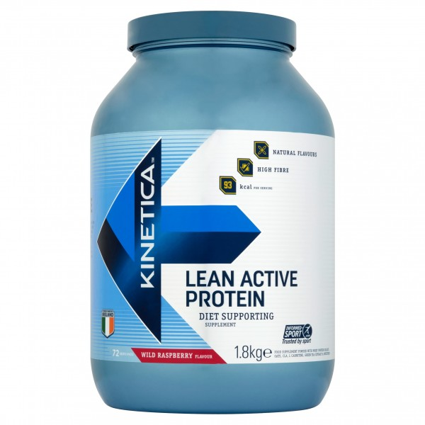 Kinetica Proteína Whey Lean Active Framboesa 1,8kg
