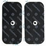 Compex Eletrodos EasySnap Single 5x10cm (2 unidades)