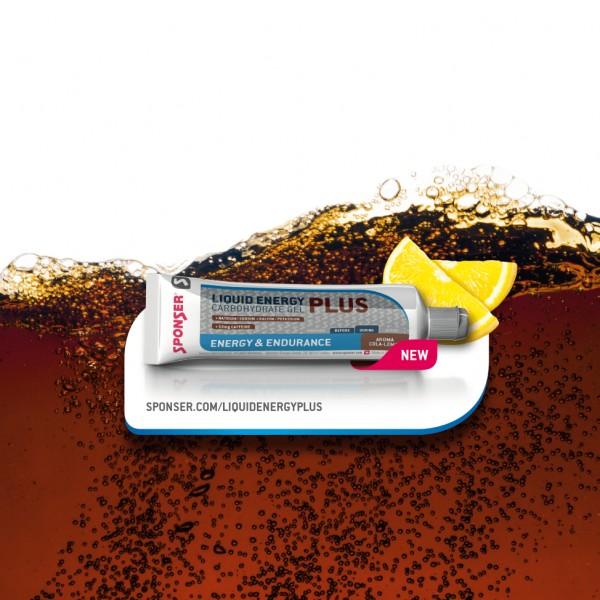 Sponser Liquid Energy Plus Gel (Cola-Limão) 70g