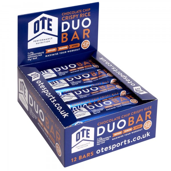 OTE Duo Bar Chocolate 12 X 65g