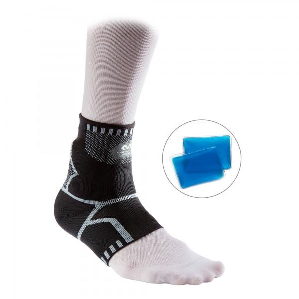 McDavid Tornozeleira com inserções para bolsas de gel personalizadas Recovery 4-way 5142