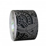 Dynamic Tape ECO Rolo 5cm x 5m Black/Grey Tattoo