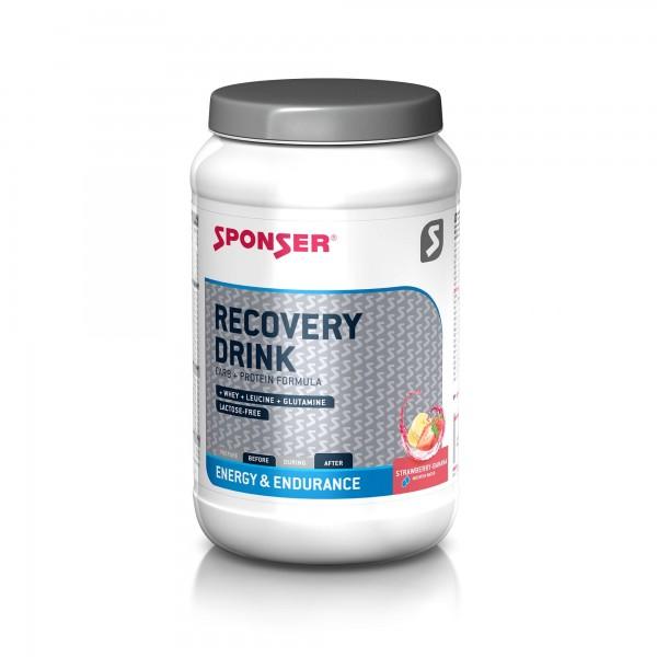 Sponser Recovery Drink Morango/Banana 1200g