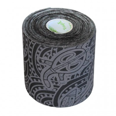Dynamic Tape ECO Rolo 7,5cm x 5m Black/Grey Tattoo