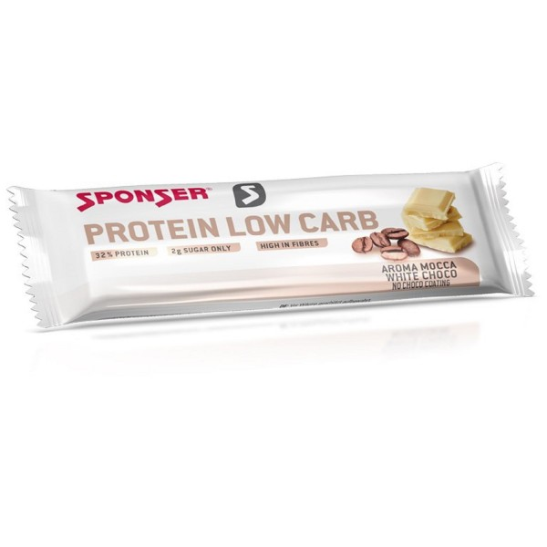 Sponser Protein Low Carb Bar Mocca Chocolate Branco 50g