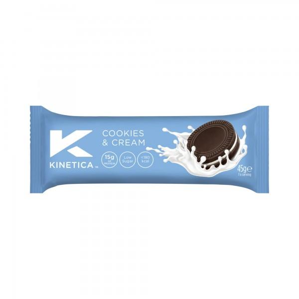 Kinetica Barra de Proteína Deluxe Cookies and Cream 45g