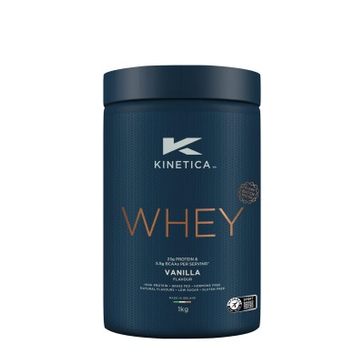 Kinetica Proteína Whey Baunilha 1Kg