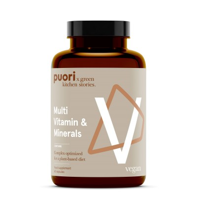 Puori V - Multivitamínico e mineral (60 cápsulas)