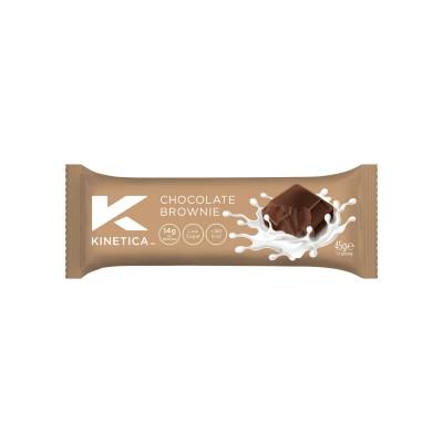 Kinetica Barra de Proteína Deluxe Chocolate Brownie 45g