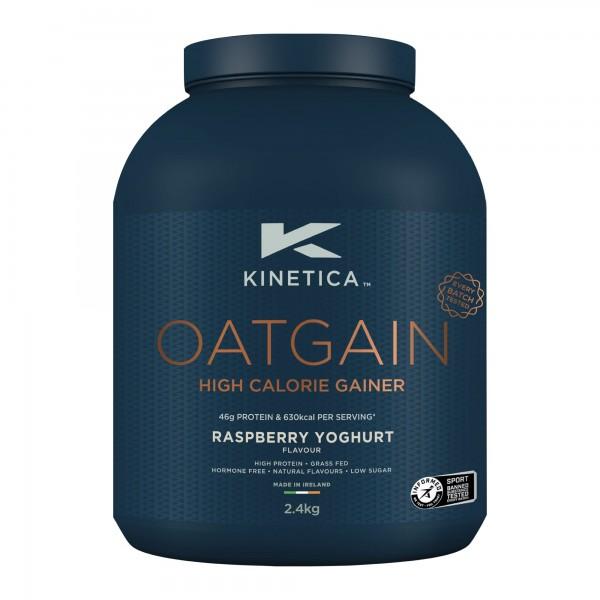 Kinetica Oatgain 2,4Kg Iogurte Framboesa (Mass Gainer)