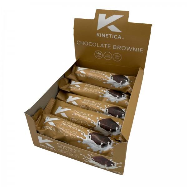 Kinetica Caixa de Barras de Proteína Deluxe Chocolate Brownie (15 barras de 45g)