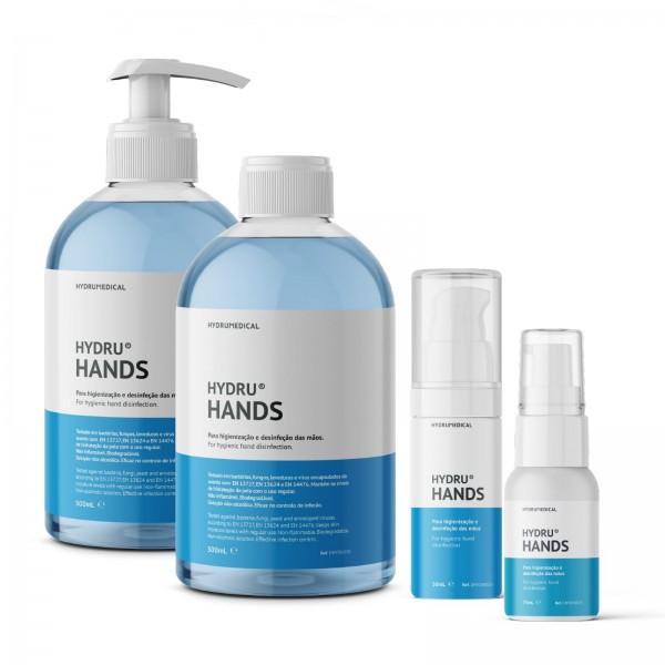 Hydrumedical Desinfetante para Mãos HYDRU HANDS (Recarga) 500ml