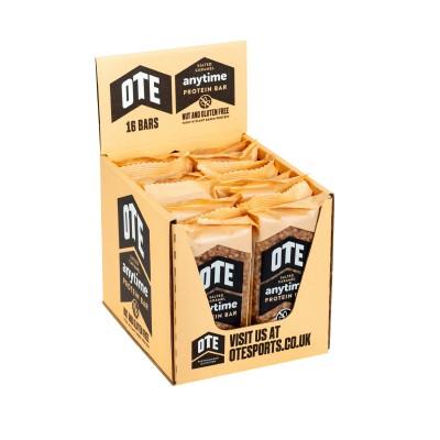 OTE Caixa de Barra Proteicas Anytime sabor caramelo salgado (16 barras de 55g)