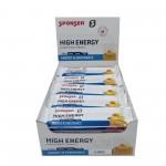 Sponser Caixa de Barras Enegética High Energy Alperce/Baunilha (30 Barras de 45g)