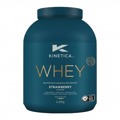 Kinetica Proteína Whey Morango 2,27kg