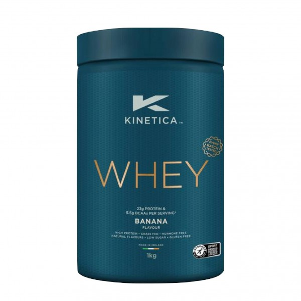 Kinetica Proteína Whey Banana 1Kg