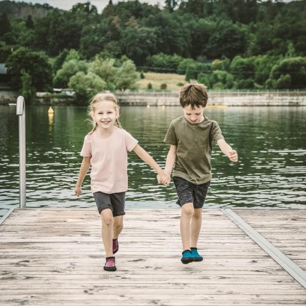 Skinners Calçado Barefoot Criança Preto