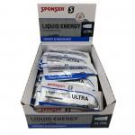 Sponser Caixa de Géis Energéticos Liquid Energy Ultra (40 géis de 25g)