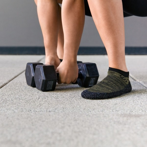 Skinners Calçado Barefoot Adulto Verde Azeitona