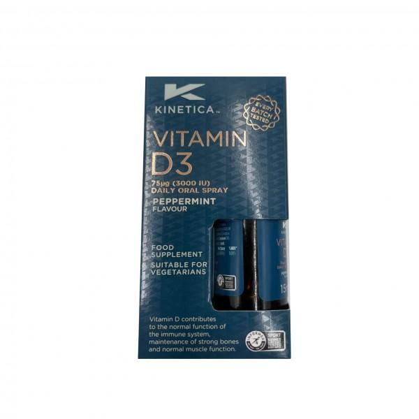 Kinetica Vitamina D3 15ml (Spray)