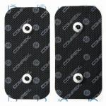 Compex Eletrodos EasySnap Dual 5x10cm (2 unidades)