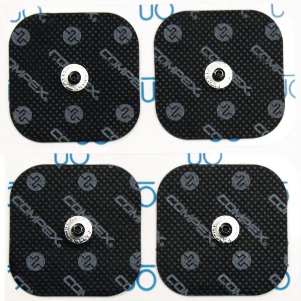 Compex Eletrodos EasySnap Compex 5x5cm (4 unidades)