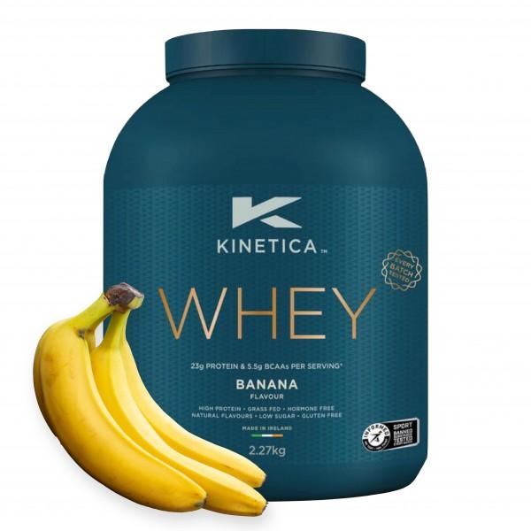 Kinetica Proteína Whey Banana 2,27Kg