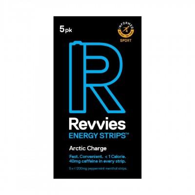 Revvies Tiras Energéticas Arctic Charge 40mg cafeína (1x5 Pack)